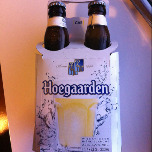 HOEGAARDEN WHITE BTLS 330ML (6X4PK):4 PACK
