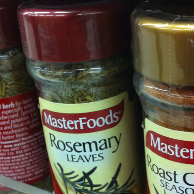 Masterfoods Regular Rosemary Leaves 18g
