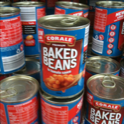 Corale baked beans in tomato sauce 425g