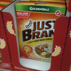 Goldenvale just bran cereal 525g