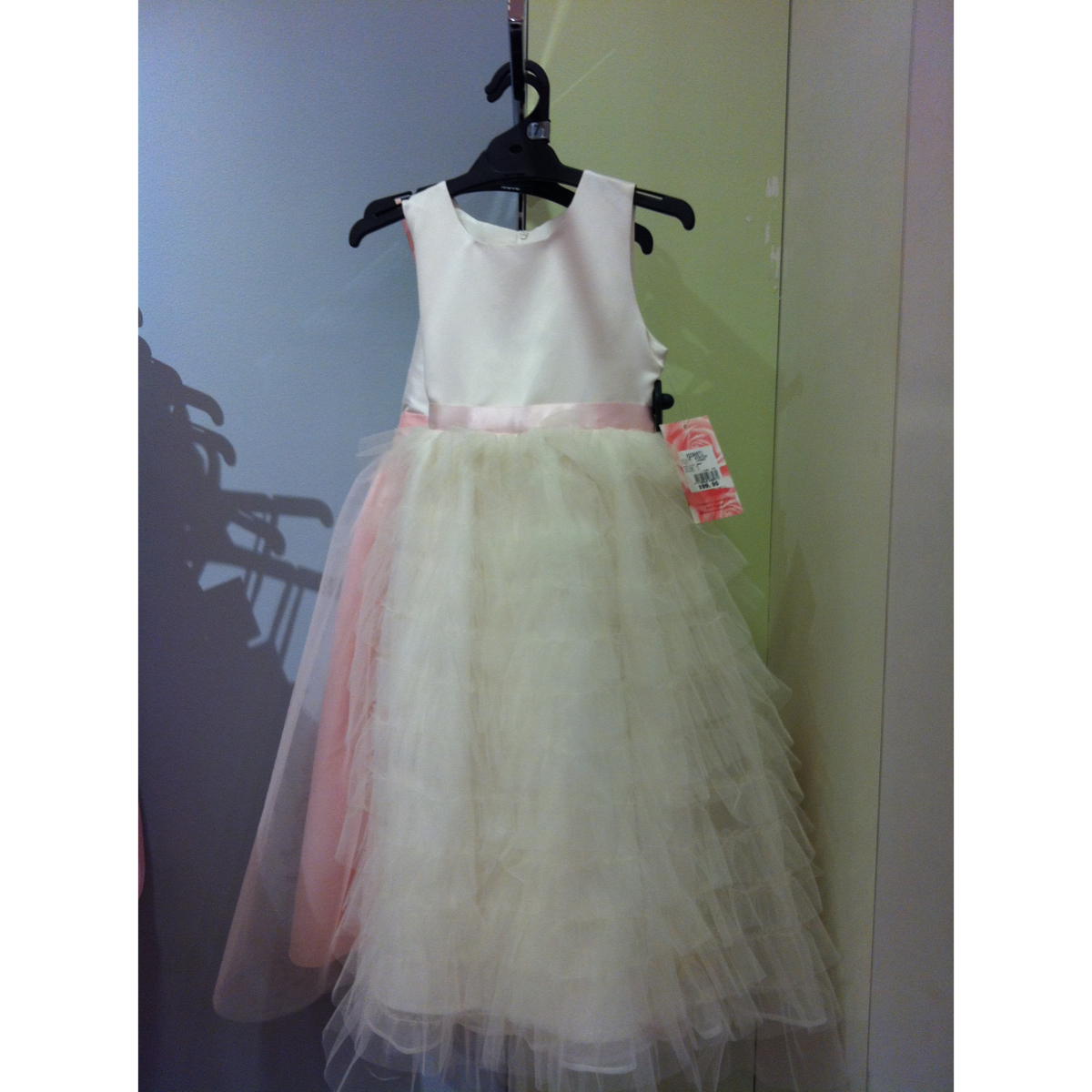 Victoria Rose Ivory girls dress