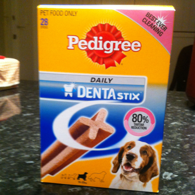 Pedigree Daily DENTAstix (for 10-25kg) 28 sticks pack