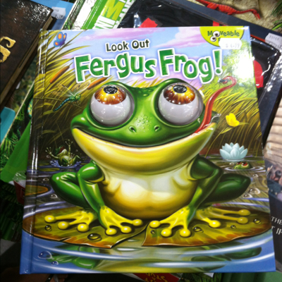 Look Out Fergus Frog
