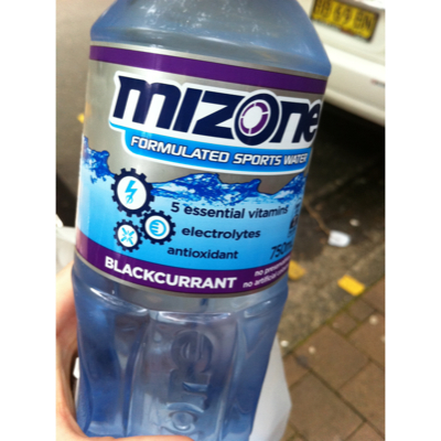 Black Currant Mizone 750mL