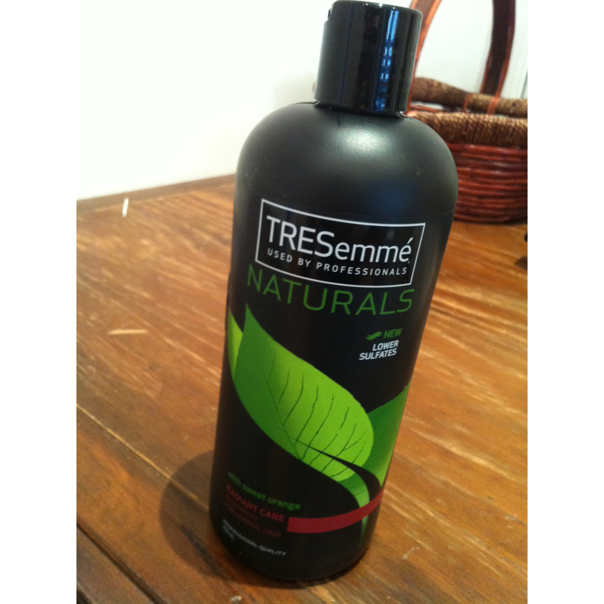 Tresemme Naturals Radiant Care Shampoo