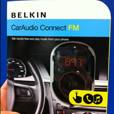 Belkin car audio connect fm