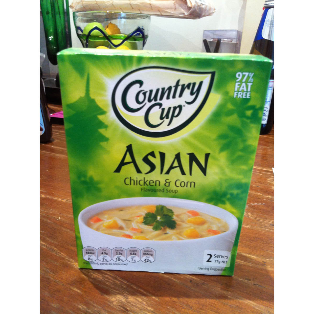 Country Cup Asian Chicken & Corn Soup