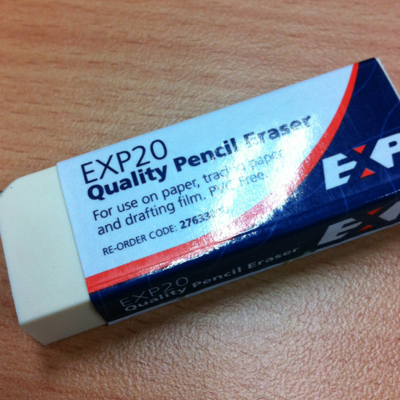 EXP20 Quality Pencil Eraser