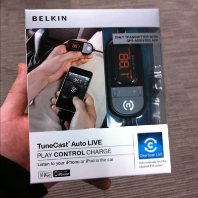 Belkin Tune Cast iPod Radio Tansmitter