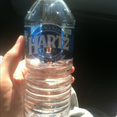 Tasmanian Hartz still spring water 600ml