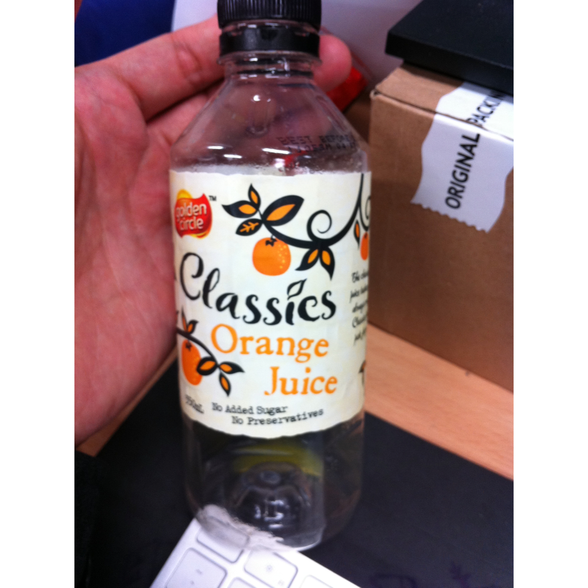 Golden circle orange juice 350ml