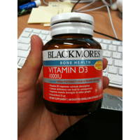 Blackmores Vitamin D3 1000IU
