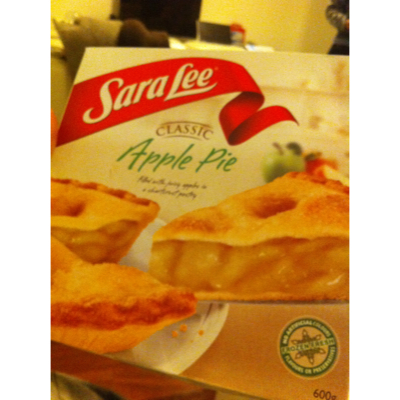 Sara lee Apple Pie