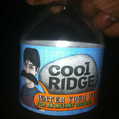 Cool ridge water