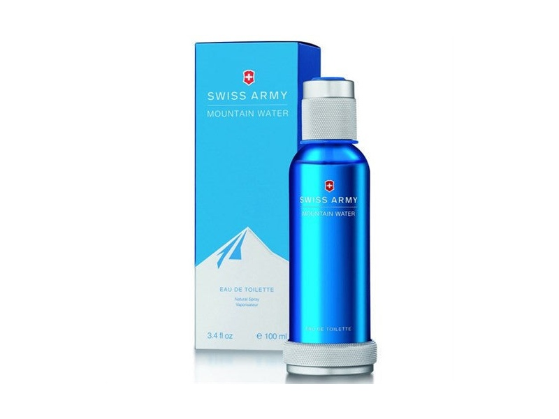 Mountain Water by Swiss Army 100ml EDT for Men