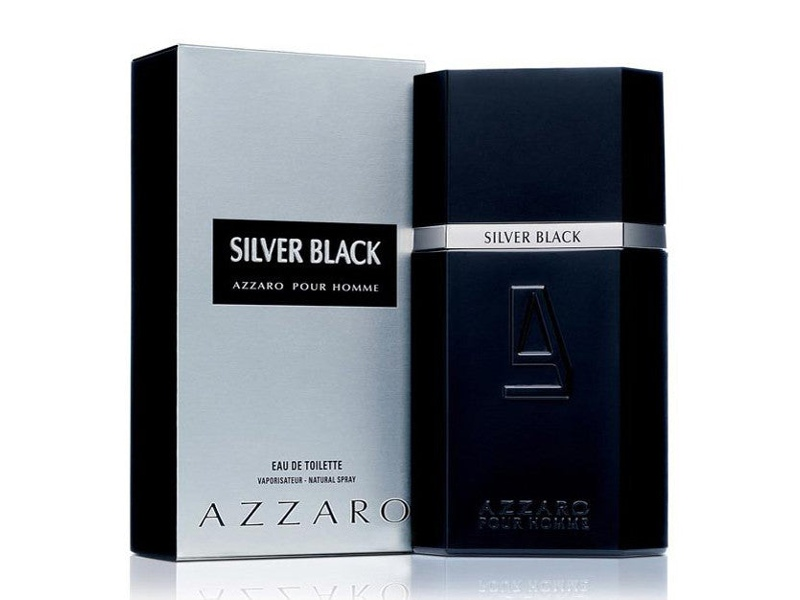 Silver Black by Azzaro 100ml EDT (M)