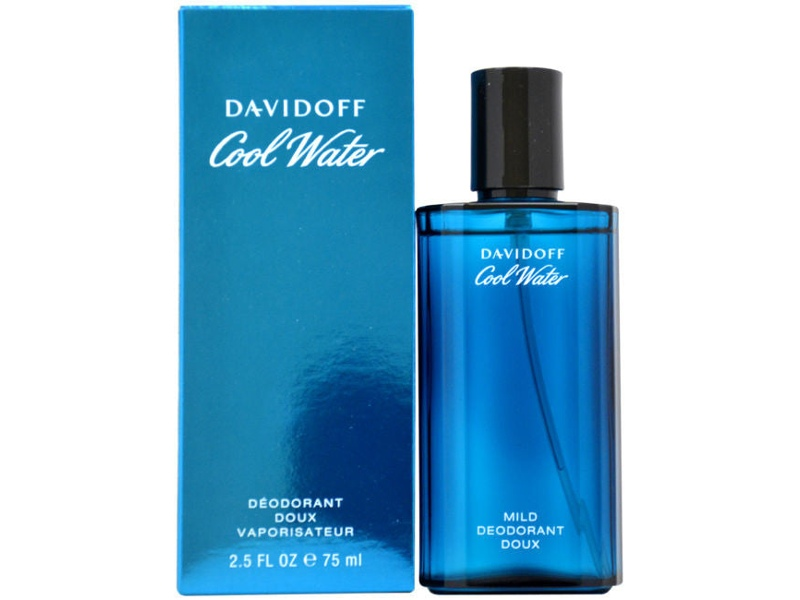 Cool Water by Davidoff 75ml Deodorant for Men