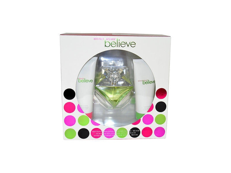 BELIEVE by BRITNEY SPEARS 100ml EDP 3PC GIFT SET