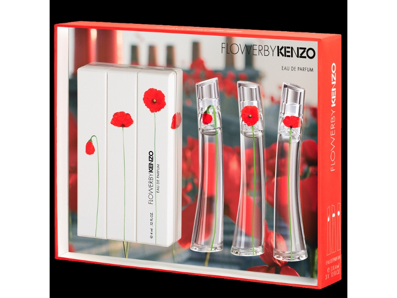 Kenzo Flower by Kenzo Collection 3 Piece Gift Set