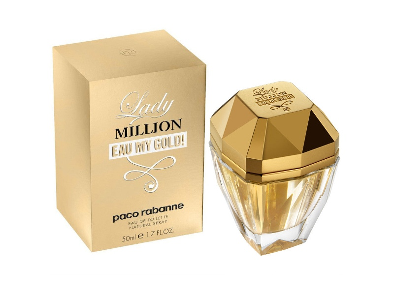 Lady Million Eau My Gold! by Paco Rabanne 50ml EDT