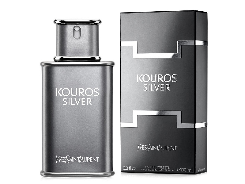 Kouros Silver by Yves Saint Laurent 100ml EDT (2015)