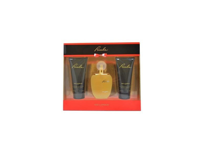 Rumba by Ted Lapidus 100ml EDT 3 Piece Gift Set