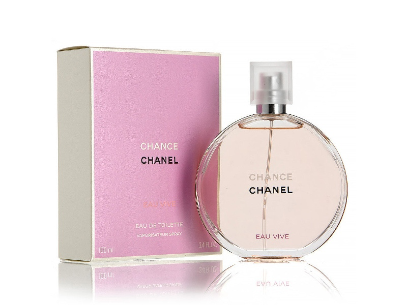 Chance Eau Vive by Chanel 100ml EDT (2015)