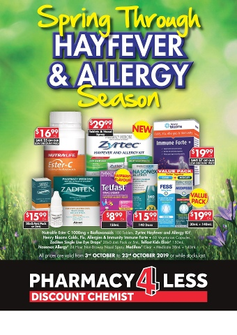 Spring Through Hayfever & Allergy Season