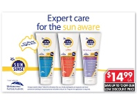 Pharmacy 4 Less Ego Sunsense 50+ Range 200g