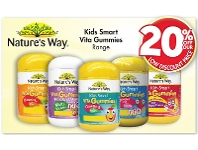 Pharmacy 4 Less Nature's Way Kids Smart Vita Gummies Range