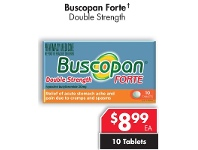 Pharmacy 4 Less Buscopan Forte Double Strength 10 Tablets