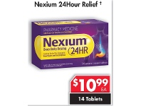 Pharmacy 4 Less Nexium 24Hour Relief 14 Tablets