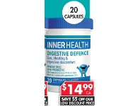 Pharmacy 4 Less Inner Health Digestive Defence 20 Capsules