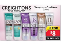 Pharmacy 4 Less Creightons Shampoo Or Conditioner 250mL