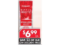 Pharmacy 4 Less Colgate Optic White Stainless Toothpaste 85g
