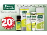 Pharmacy 4 Less Thursday Plantation First Aid, Fungal And Foot Care Range Only