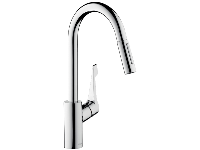 Hansgrohe 14803003 Cento Variarc XL Pull Out Spray Kitchen Mixer Tap