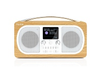 Appliances Online Pure 151107 Evoke H6 Portable DAB+ and FM Radio with Bluetooth Oak