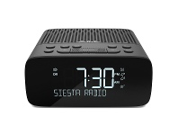 Appliances Online Pure 151118 Siesta S2 DAB+ and FM Radio Alarm Clock Black