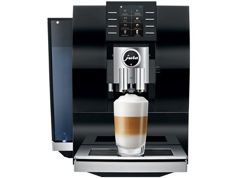 Jura Z6 Diamond Black Automatic Coffee Machine 15263