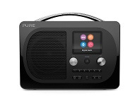 Appliances Online Pure 153022 Evoke H4 Prestige Portable DAB+ and FM Radio Black