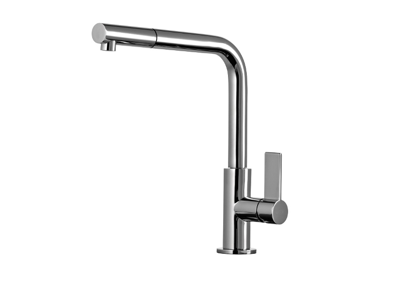 Gessi 17053 Emporio Kitchen Mixer with Pull-Out Tap