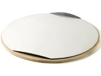 Appliances Online Weber 17652 Baby Q Pizza Stone and Tray