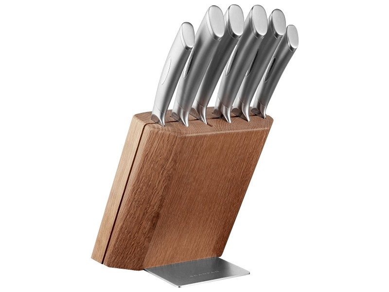 Scanpan Classic Steel 7 Piece Knife Block Set 18381