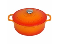 Appliances Online Chasseur Round French Oven 4L Sunset Orange 19981
