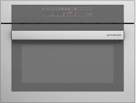 Appliances Online Barazza 1MCFY 45cm Feel Compact Electric Built-In Combination Microwave Oven 1000W
