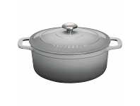 Appliances Online Chasseur 28cm 6.1L Round French Oven Cookware Celestial Grey 20013