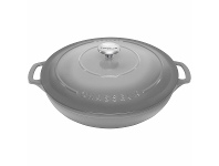 Appliances Online Chasseur 30cm 2.5L Round French Oven Cookware Celestial Grey 20014