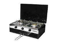 Appliances Online Bromic 2020059 Camper-Lido Junior Deluxe 2 Burner with Grill (2.75KPA)