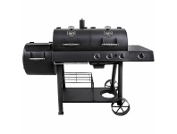Appliances Online Oklahoma Joe's Longhorn Combo Charcoal-Gas Smoker and Grill BBQ 20209029